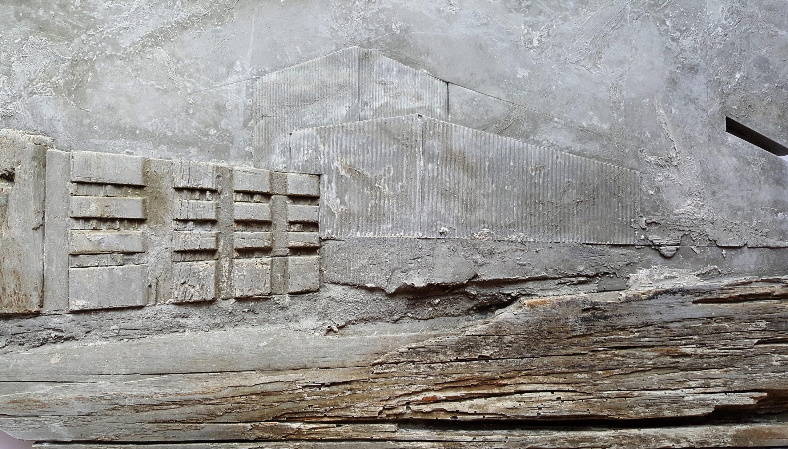 Detail Shelter Relief Beton