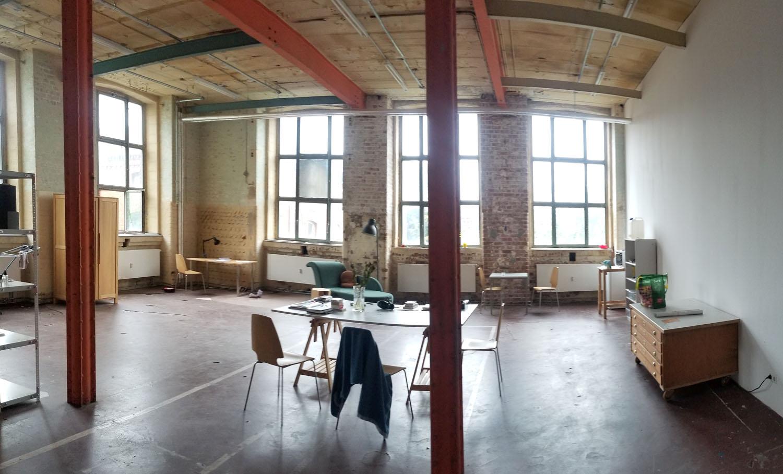 Heimspiel Stipendium offenes Atelier Spinnereirundgang