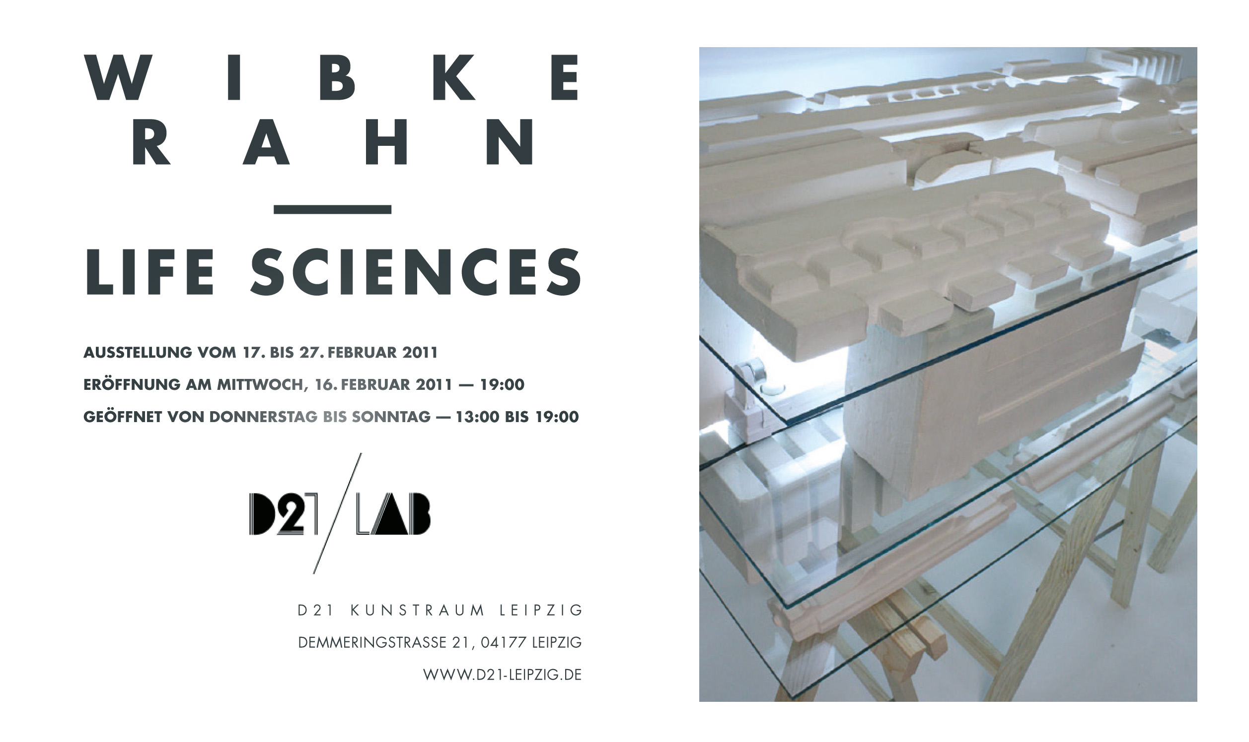 Kunstraum D21 Lab Life Sciences