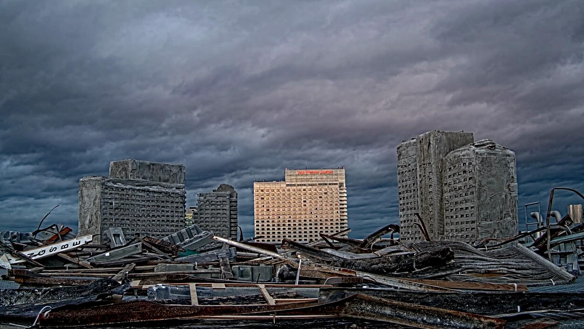Vanishing Point Installation Dach des MDBK Leipzig